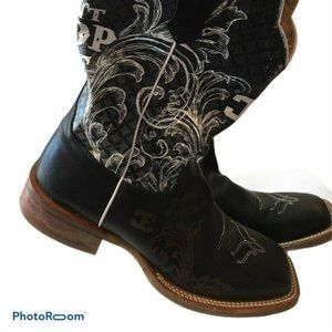 Cinch Edge Can't Stop Me Cowboy Boots Square Toe 8